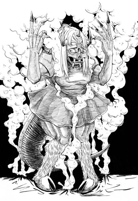 地獄 の 悪魔